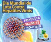 Dia Mundial de Combate à Hepatite